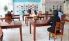 山东科技职业学院图书馆开展疫情防控应急处置演练