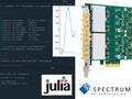 Spectrum仪器为高性能应用配备Julia工具包,开创行业先河