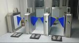 静电检测ESD门禁系统 无尘车间门禁闸机 静电检测翼闸
