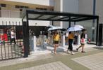 翼梭大学高中UBC-T1校园人脸识别门禁考勤测温闸机