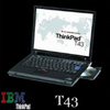 ThinkPad T43 二手笔记本电脑 大量定制批发 - 600元