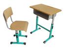 河北钢木课桌椅厂家直销优质课桌凳HX-K002