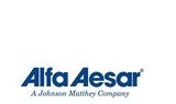 Alfa Aesar(阿法埃莎)華中區收授權銷售上海效勝一家科研試劑、科研耗材的生產商及供應商
