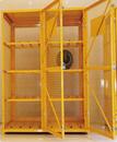 气瓶网状存储柜