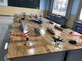 航模/橡筋動力飛機模型 電動飛機模型 遙控飛機 中小學航模教學器材批發