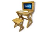 楠竹多功能电子课桌 多?#25945;?#30005;子课桌 电教室两用电脑课桌