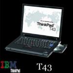 ThinkPad T43 二手筆記本電腦 大量定制批發 - 600元