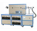 高真空三温区CVD系统