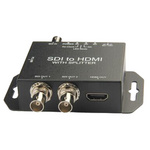 SDI转HDMI 高清转换器 HD/3G-sdi广电级 1080P监控摄影机电视台专用