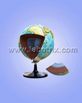 教學儀器-地球模型-地球內部構造