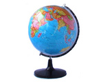 直径32cm平面政区地球仪