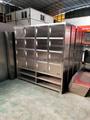 广东铝合金柜厂不锈钢柜批发储物柜24门存包柜不锈钢员工存衣柜定制