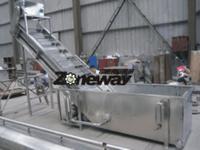 CXJ型冲浪式洗果机(FXJ型翻爪清洗机)