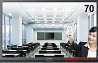 夏普LCD-70X561A触摸一体电视机 电视+电子白板+音箱,是会议室 教学 展示大屏之选