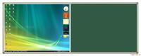 投影绿板组合书写板