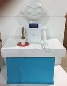 中学科技馆方案 SDJY科普展品 社区科普馆 校园科普设备  与机器人比腕力