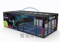 智龍體育室內模擬網球模擬運動網球綜合運動館設備趣味網球設備游戲網球運動