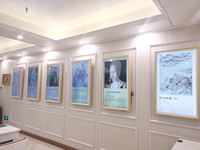 AI图书艺术长廊展览系统