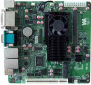 最新 凌動處理器主板 雙網卡 帶HDMI接口 支持mSATA