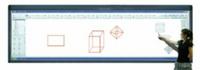 1.4*4米寬屏納米環保教學板,手觸交互并可傳統板書