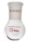美國Kimble 漸縮頸厚壁圓底燒瓶 294000-0005 294000-0010 294000-0015 294000-0025 294000-0035 294000-0050