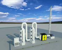 压铸机湿式水膜除尘器喷淋塔价格