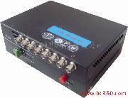 八路視頻 + 數據(或音頻)光端機