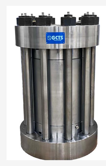 420MPa、300℃超高壓三軸壓力室(HTRX-420)