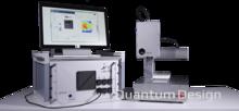 石墨烯/二维材料电学性质非接触快速测量系统
