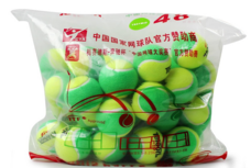 Teloon天龙儿童网球 831初学儿童球羊毛 831绿色-儿童进阶(48个整袋)
