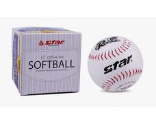 STAR世达棒球男士男子比赛初学者练习用实心垒球 WB5412垒球 9inch