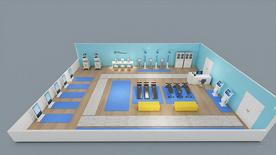 學生體質健康智能監測室+學校智能型體育功能室+學生體質測試及在線體育監測管理系統+體質測試成套智能設備+地區學生體質健康監測中心