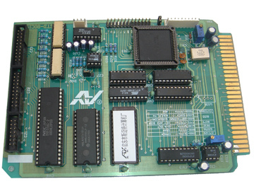 STD 80C196 控制板