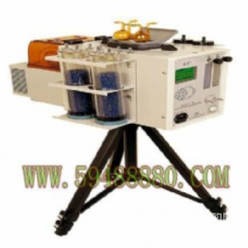 24小时恒温自动连续采样器/大气采样器 型号:WZU/2021-S8