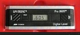 数显电子角度水平仪/数显角度仪/量角器/角度规/倾角仪/水平尺  型号:PRO3600
