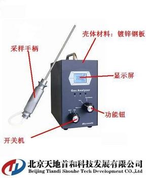 泵吸式二氧化碳分析仪