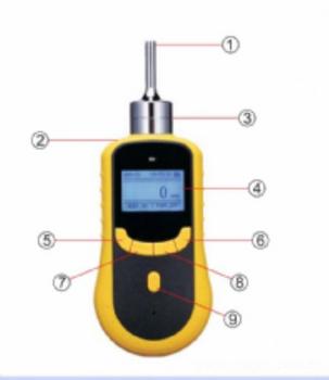 泵吸式甲醛气体测定仪