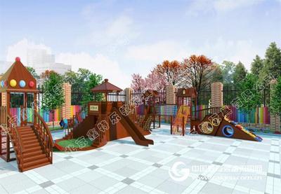 幼儿园大型木质小博士组合
