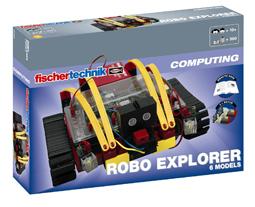 慧鱼创意组合模型ROBO 探险家机器人