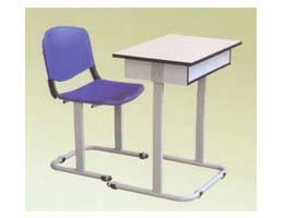 教学课桌椅-jx016