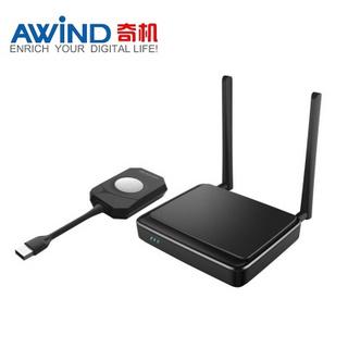 AWiND奇机A-100单画面无线投屏器品牌  USB按键投屏