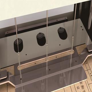 中创恩SK-355 智能三孔档案线装机 三孔一线装订机 线式档案装订机