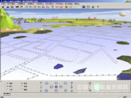 虚拟现实仿真大屏幕显示系统