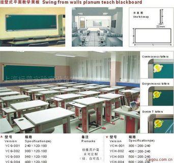 挂壁式平面教学黑板
