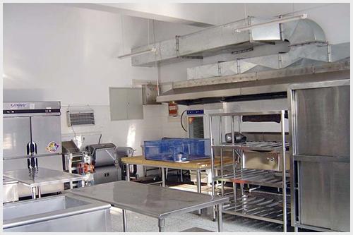 食堂厨房解决方案 三帆中学唯看宏华