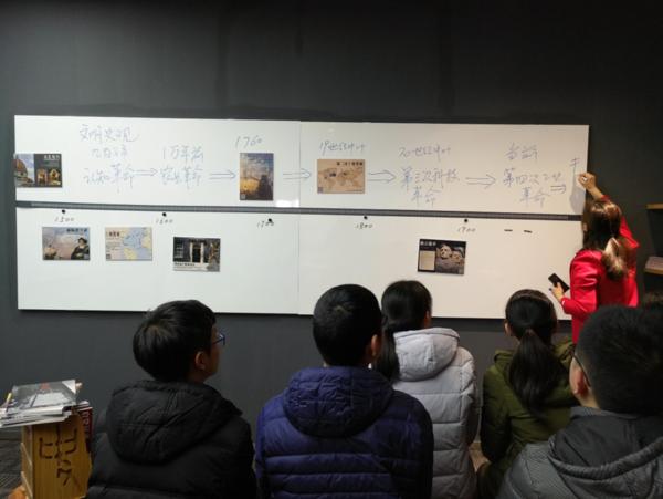 搭建縱橫時空結構,歷史活動墻讓教學更輕松