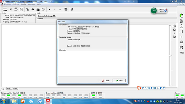 M.2接口固态硬盘不识别数据恢复