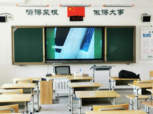 远程控制,自由切换,揭秘碧海扬帆全国首款带遥控的视频展台