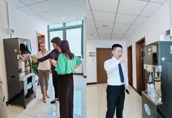 水圣科技净水设备首批已在清华大学投入运营
