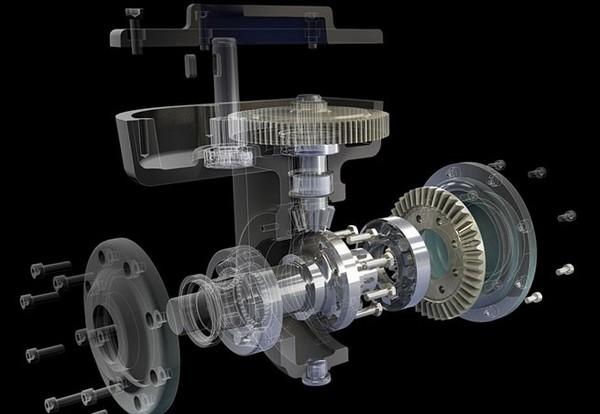 CREAFORM三维扫描仪在机械制造中的应用